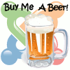 Implementation of Buy me a beer in Joomla!