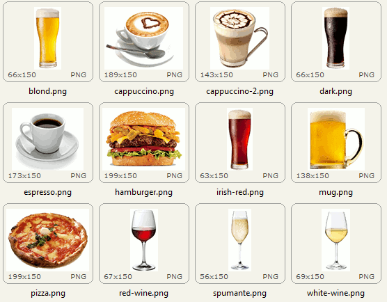 Images available into buy me a beer for joomla
